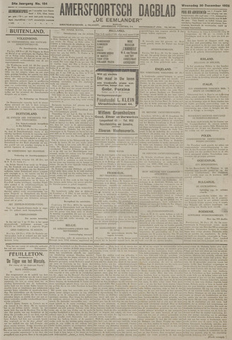 Amersfoortsch Dagblad / De Eemlander 1925-12-30