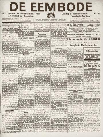 De Eembode 1926-09-21
