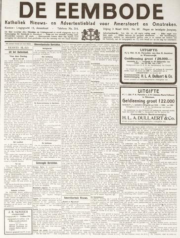 De Eembode 1916-03-03