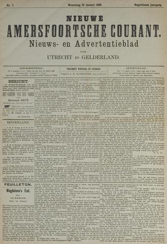 Nieuwe Amersfoortsche Courant 1890-01-22
