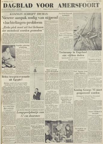 Dagblad voor Amersfoort 1951-09-22