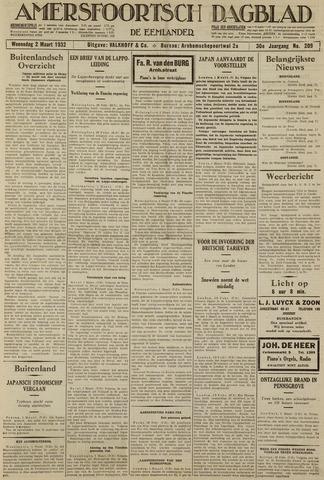 Amersfoortsch Dagblad / De Eemlander 1932-03-02