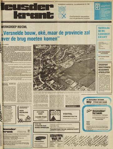 Leusder Krant 1980-08-14