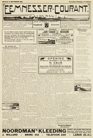 Eemnesser Courant 1924-09-12