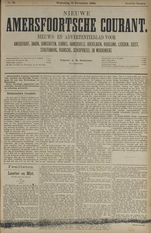 Nieuwe Amersfoortsche Courant 1884-11-12