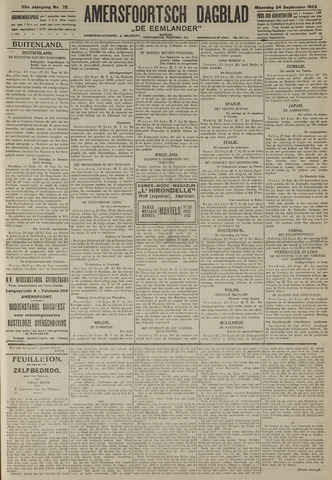 Amersfoortsch Dagblad / De Eemlander 1923-09-24