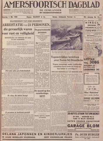 Amersfoortsch Dagblad / De Eemlander 1940-05-04