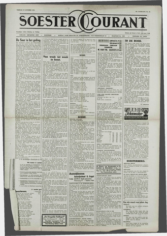 Soester Courant 1954-10-29