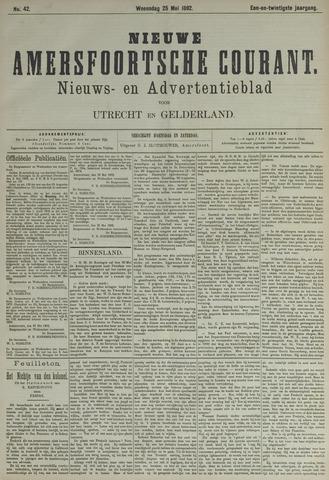 Nieuwe Amersfoortsche Courant 1892-05-25