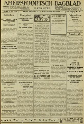 Amersfoortsch Dagblad / De Eemlander 1933-04-18