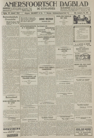 Amersfoortsch Dagblad / De Eemlander 1931-01-30