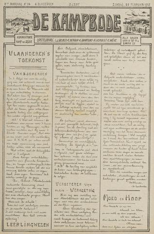 De Kampbode 1917-02-25