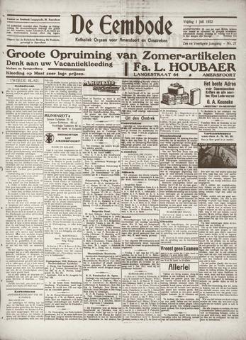 De Eembode 1932-07-01