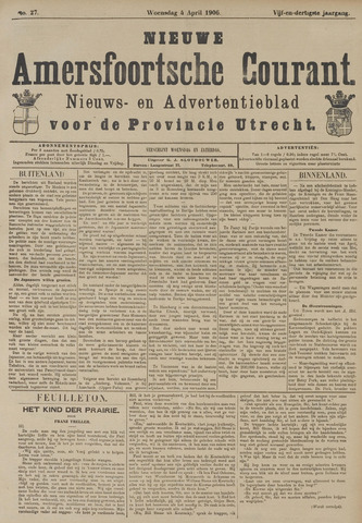 Nieuwe Amersfoortsche Courant 1906-04-04