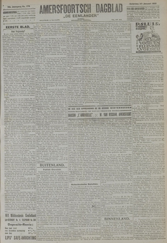 Amersfoortsch Dagblad / De Eemlander 1921-01-29