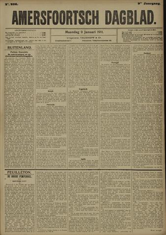 Amersfoortsch Dagblad 1911-01-09
