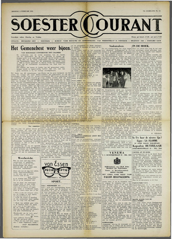 Soester Courant 1955-02-08