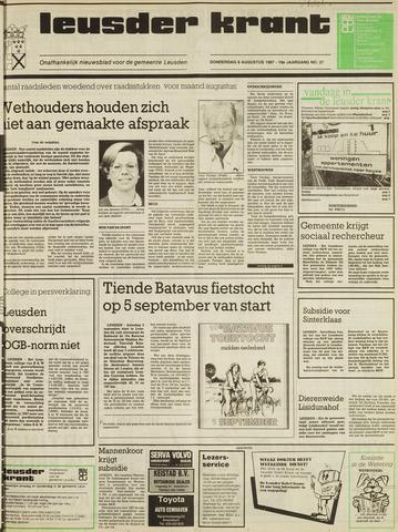 Leusder Krant 1987-08-06