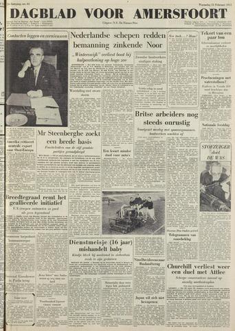 Dagblad voor Amersfoort 1951-02-21