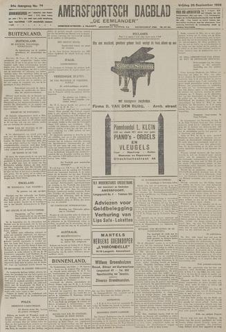 Amersfoortsch Dagblad / De Eemlander 1925-09-25