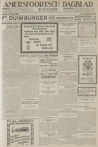 Amersfoortsch Dagblad / De Eemlander 1929-02-09