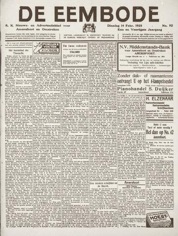 De Eembode 1928-02-14