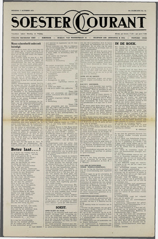Soester Courant 1952-10-07