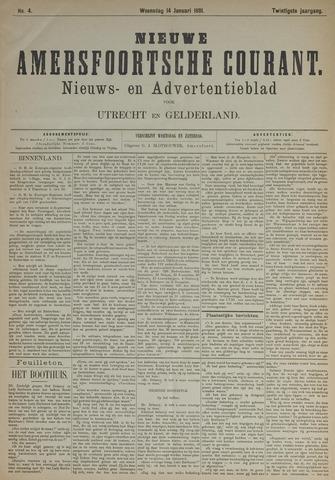 Nieuwe Amersfoortsche Courant 1891-01-14