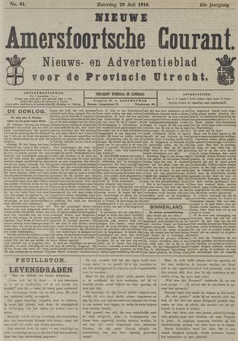 Nieuwe Amersfoortsche Courant 1916-07-29