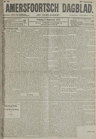 Amersfoortsch Dagblad / De Eemlander 1917-08-03