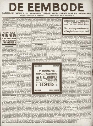 De Eembode 1919-09-26