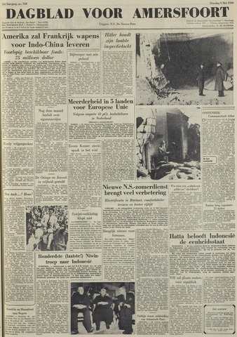 Dagblad voor Amersfoort 1950-05-09