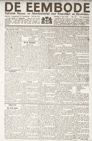 De Eembode 1917-07-17