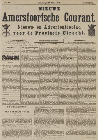 Nieuwe Amersfoortsche Courant 1914-06-20