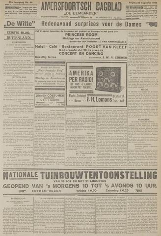 Amersfoortsch Dagblad / De Eemlander 1926-08-20