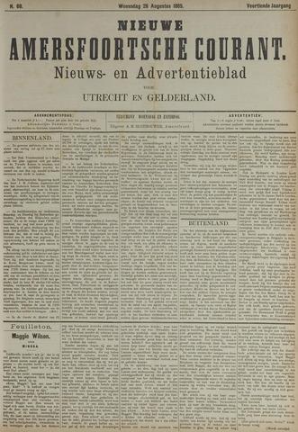 Nieuwe Amersfoortsche Courant 1885-08-26