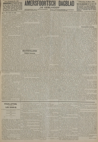 Amersfoortsch Dagblad / De Eemlander 1919-03-10