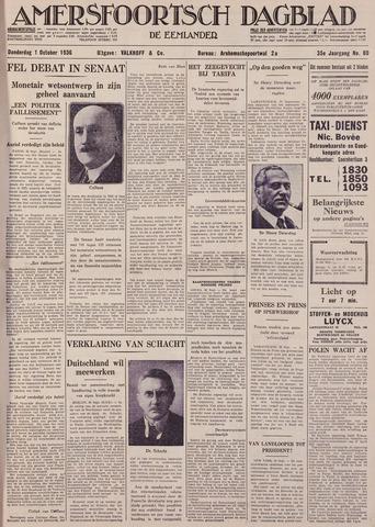 Amersfoortsch Dagblad / De Eemlander 1936-10-01