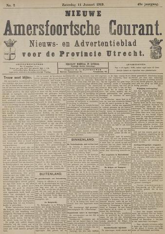 Nieuwe Amersfoortsche Courant 1919-01-11