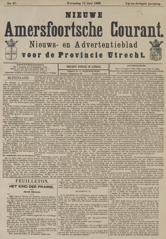 Nieuwe Amersfoortsche Courant 1906-06-13