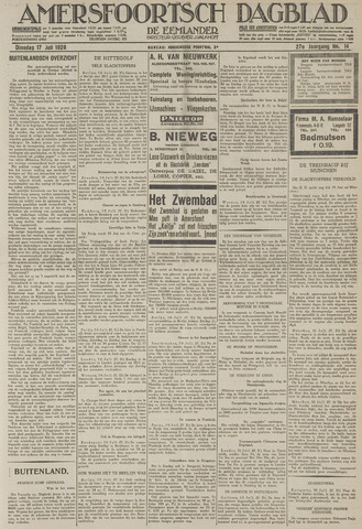 Amersfoortsch Dagblad / De Eemlander 1928-07-17