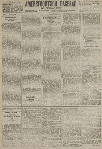 Amersfoortsch Dagblad / De Eemlander 1918-09-18