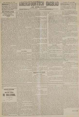 Amersfoortsch Dagblad / De Eemlander 1918-04-23