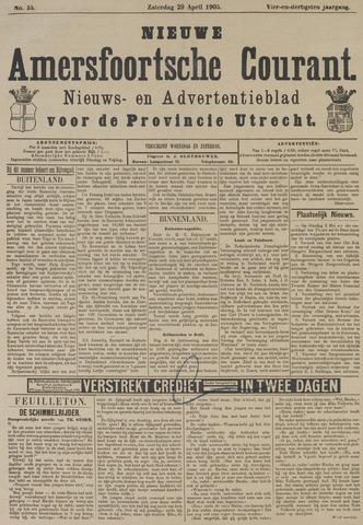 Nieuwe Amersfoortsche Courant 1905-04-29