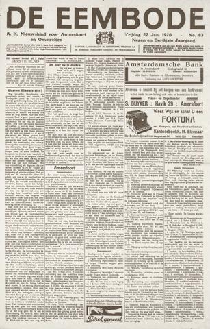 De Eembode 1926-01-22