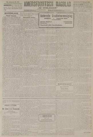 Amersfoortsch Dagblad / De Eemlander 1920-02-19