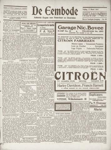 De Eembode 1933-03-17