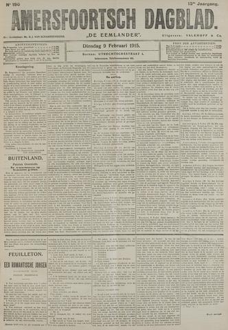 Amersfoortsch Dagblad / De Eemlander 1915-02-09