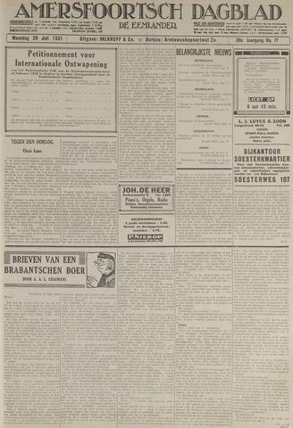 Amersfoortsch Dagblad / De Eemlander 1931-07-20