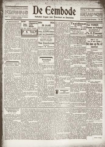 De Eembode 1934-11-06